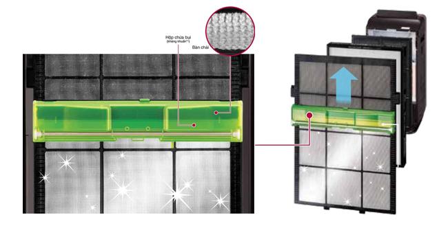 Máy lọc không khí và tạo ẩm Hitachi EP-L110E