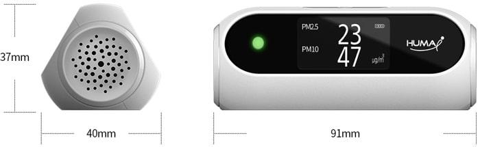 Thiết bị đo chất lượng không khí Huma-i HI-100 (White)